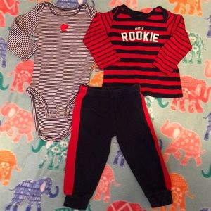 3 piece outfit for infant boy